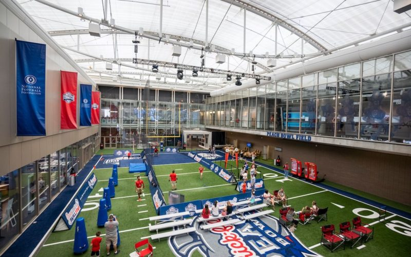 College Football Hall of Fame - Indoor Football Field