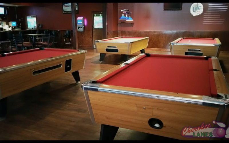 Cherokee Lanes Billiards/Pool - Canton, GA