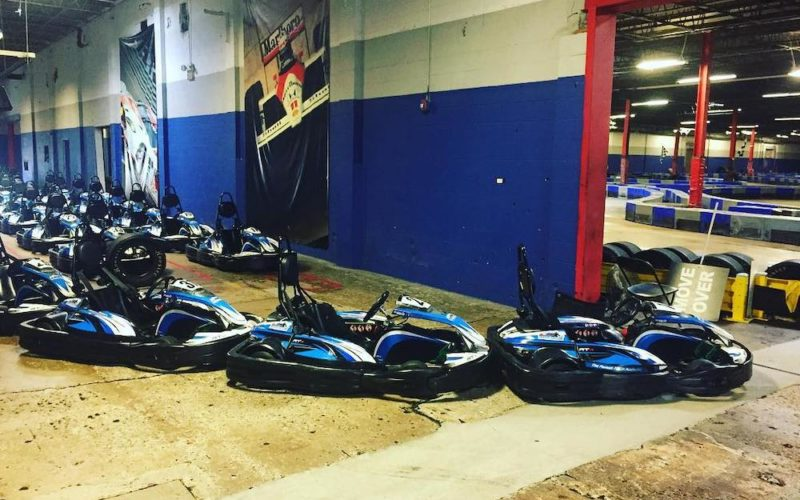 Karts at Music City Indoor Karting