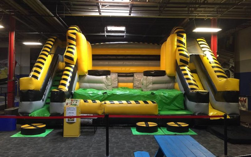 Indoor Bouncy Slide @ Music City Indoor Karting