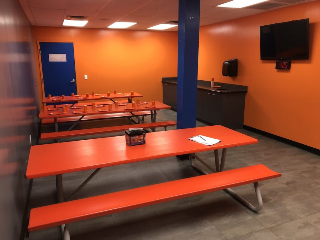 Birthday Party room at Sky Zone in Roswell, GA