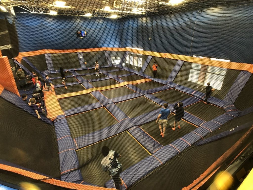Dodgeball at Sky Zone in Roswell, GA