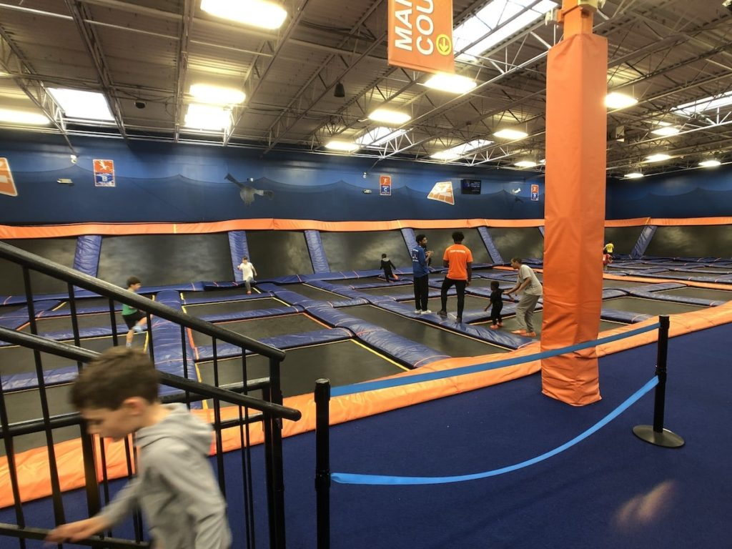 Open Jump area at Sky Zone in Roswell, GA
