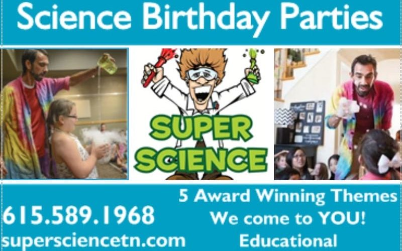 Super Science Birthday Parties