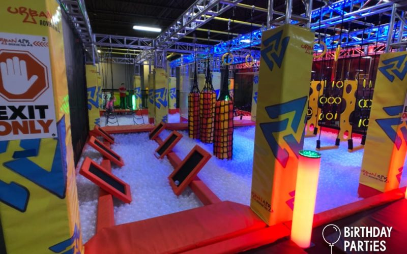 Ninja Obstacle Course @ Urban Air Adventure Park - Atlanta (Snellville), GA